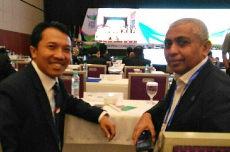 Amir Burhannudin (kiri) dan Achmad Riyadh UB, Ph.D.