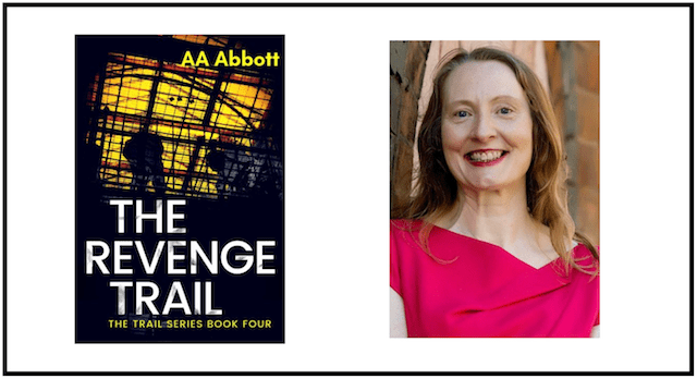 AA Abbott, author of The Revenge Trail