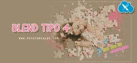 Blend Tipo 4 Photoshop Tutorial
