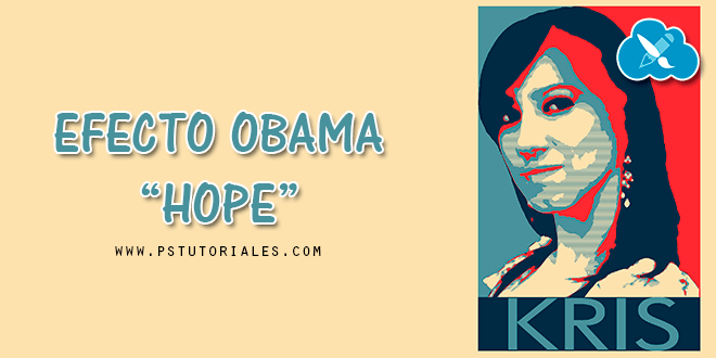 Efecto Obama «Hope» con Photoshop