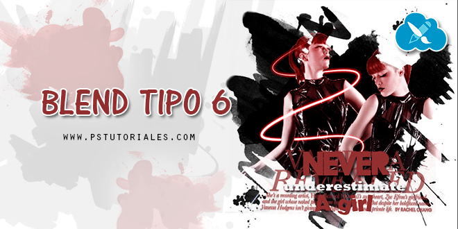 Blend Tipo 6 Photoshop Tutorial