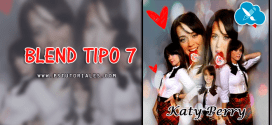 Blend Tipo 7 Photoshop Tutorial