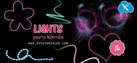 Lights en png para blends