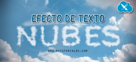 Texto de nubes Photoshop Tutorial