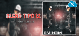 Blend Tipo 12 Photoshop Tutorial