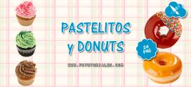 Pasteles y donuts en PNG