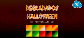 10 degradados especial Halloween