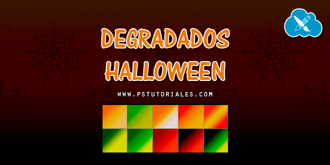 10 degradados especial Halloween