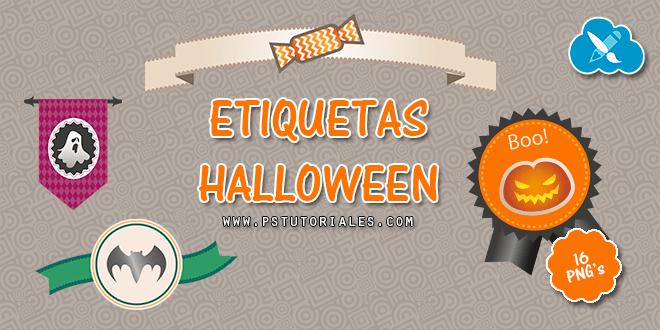 16 banners de Halloween en PNG