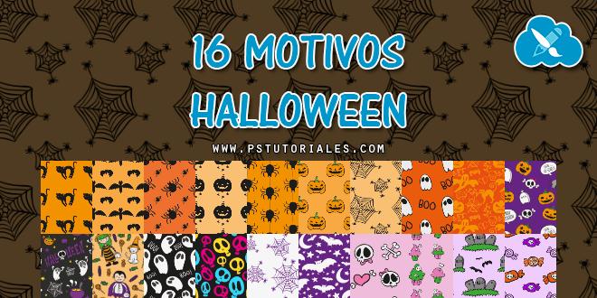 16 + 4 motivos de Halloween