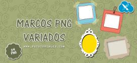 24 marcos variados en PNG
