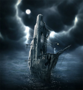 Mysterious Ghost Ship