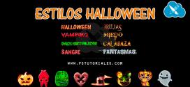 Estilos de Halloween – Pack 1