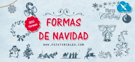 300 formas personalizadas de Navidad