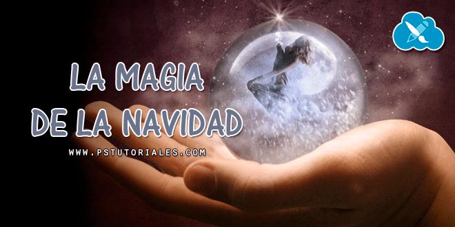 Magia de la Navidad Photoshop Tutorial