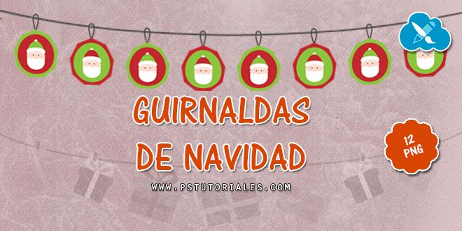 12 guirnaldas de Navidad