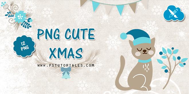 12 PNGs Navidad Cute