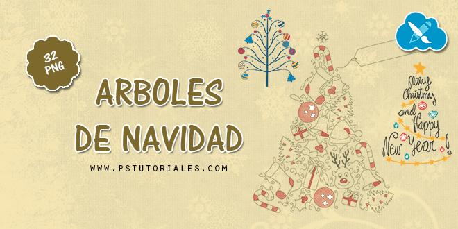 32 arbolitos de Navidad