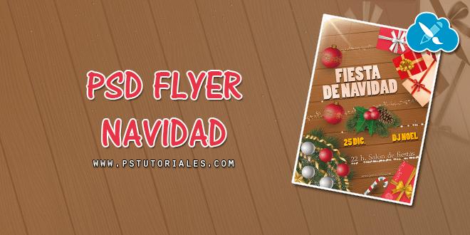 PSD Flyer Fiesta de Navidad