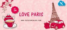 20 PNG Love Paris