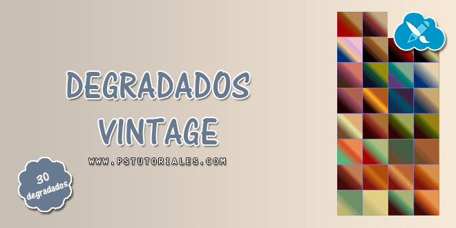 30 degradados vintage