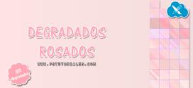 33 degradados rosados