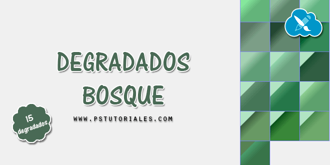 Degradados de bosque