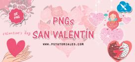 38 PNGs de San Valentín