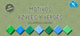 43 motivos azules y verdes
