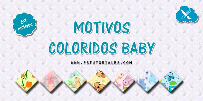 69 motivos coloridos para niños