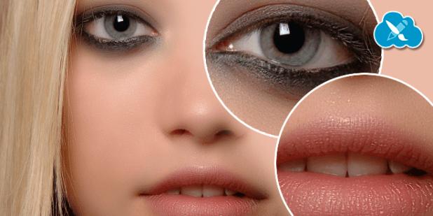 retoque piel textura