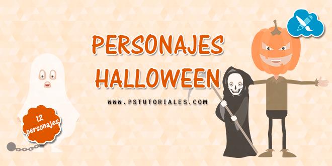 12 personajes de Halloween