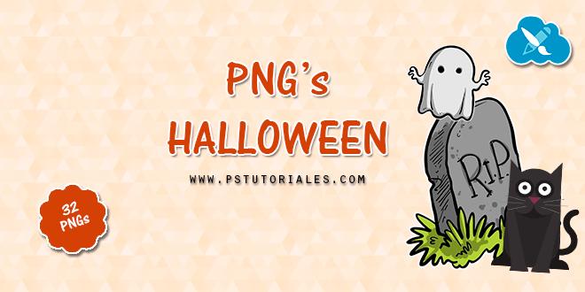 32 PNG de Halloween