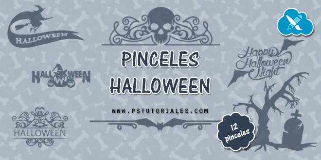 Pinceles especial Halloween