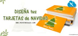 Diseña tus tarjetas de Navidad