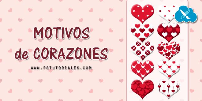 10 motivos de corazones