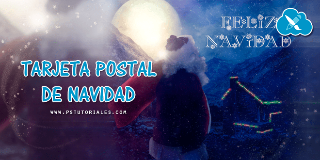 Tarjeta Postal de Navidad – Photoshop Tutorial