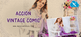 Accion Vintage Comic para Photoshop