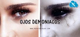 Ojos demoniacos y siniestros con Photoshop