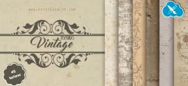 45 texturas vintage para Photoshop