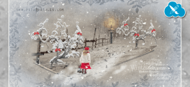 Tarjeta postal de Navidad con Photoshop