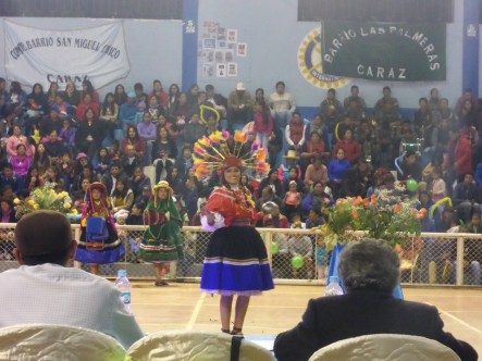 Cultural dances in the Shumaq Shipash competition.
