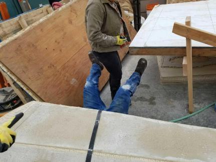 Concrete Canoe Building 4 2017