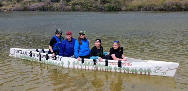 concrete canoe - women 2