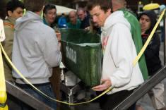 PSU Concrete Canoe Competition Setting Up