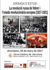 Jornada: La revolució russa @ Calàbria 66 | Barcelona | Catalunya | España