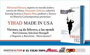 Presentació: Yihad made in USA @ Pati Llimona | Barcelona | Catalunya | España