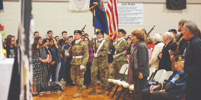 PSU Hosts Annual Veterans Day Ceremony