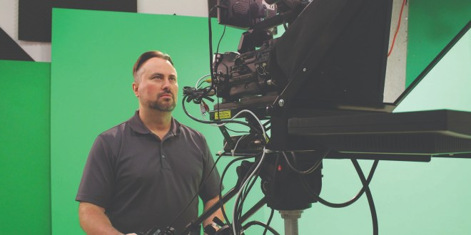 Jason Knowles: new professor of media production