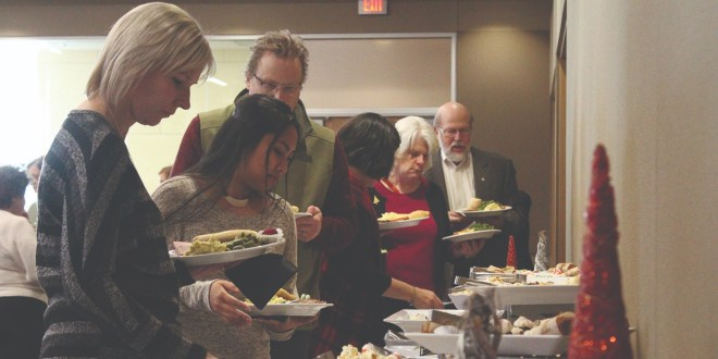 PSU Hosts Annual Holiday Luncheon